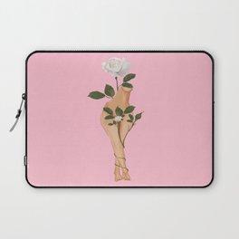 Cuerpo de flores Laptop Sleeve