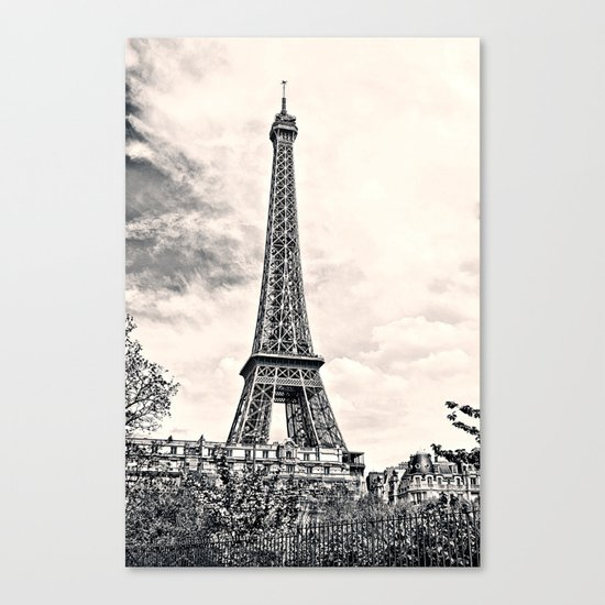 Another Eiffel Tower Photo Canvas Print