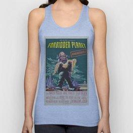 Vintage poster - Forbidden Planet Unisex Tank Top
