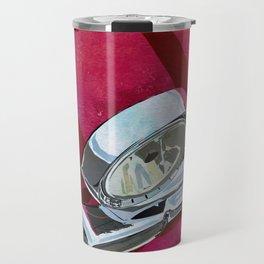Classic Retro Car Art Series #1 in Gypsy Red Travel Mug