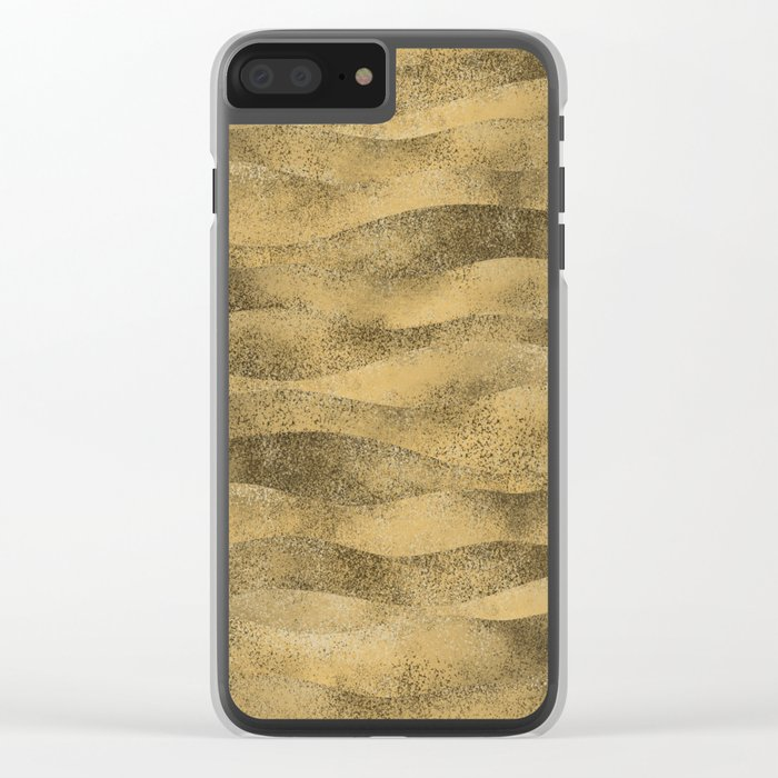BE\CH N/GHTS Clear iPhone Case