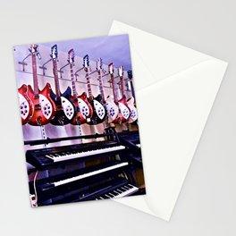 Guitar Shop Stationery Cards