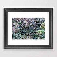 Lavender Mother Framed Art Print