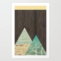 Beachwood Art Print