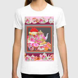 AFTERNOON TEA PARTY  & PASTRY  DESSERTS T-shirt