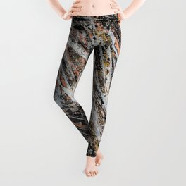 Copper Ore painting Leggings