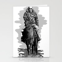 putin Stationery Cards featuring Putin cool by Valentina