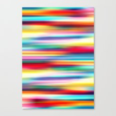 Blurry Cool Canvas Print