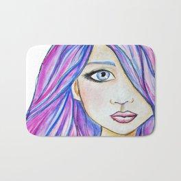 Color Girl Bath Mat