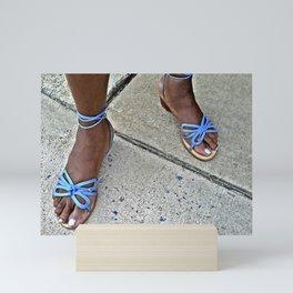 Blue Mini Art Print