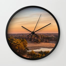Oh Netherlands, why are thou so flat Wall Clock