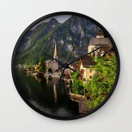 Hallstatt Wall Clock
