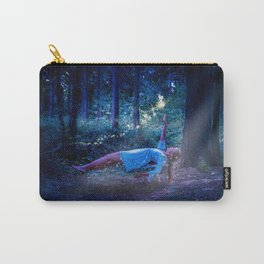 Woman Floating In Nature Carry-All Pouch