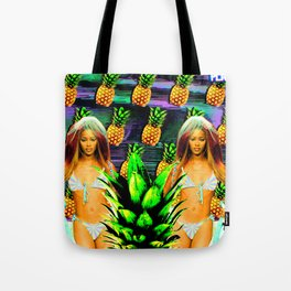 Pineapple Campbell Tote Bag