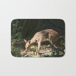 Sweet little Fawn Bath Mat