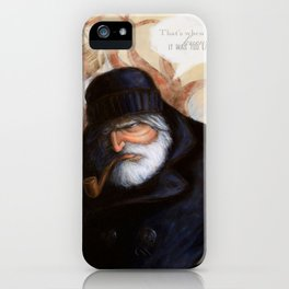 No Grave But The Sea iPhone Case
