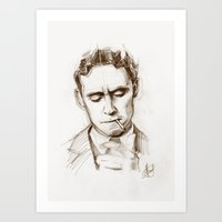 fitzgerald Art Prints featuring Fitzgerald by Hash