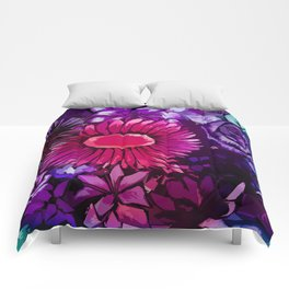 Floral Delights Comforters