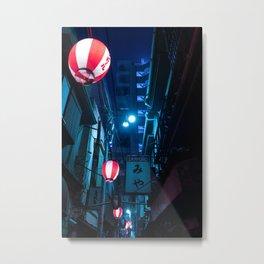 Tokyo After Dark II / TO:KY:OO / Liam Wong Metal Print