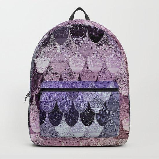 SUMMER MERMAID - PURPLE RAINBOW Backpack