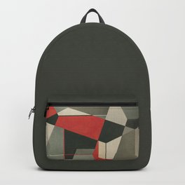 Geometric Fox Backpack