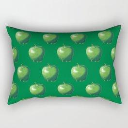 Green Apple_B Rectangular Pillow