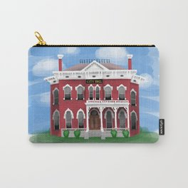 City Hall - Warren Ohio 100 Carry-All Pouch