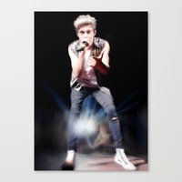 niall Canvas Prints featuring niall by indieharold
