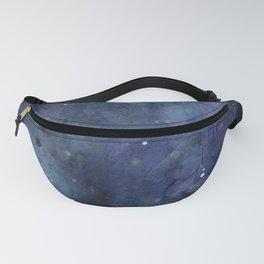 Night Sky Stars Galaxy | Watercolor Nebula Fanny Pack