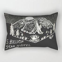 """5 Billion Star Hotel"""" Hand-Drawn by DarkMountainArts Rectangular Pillow"""