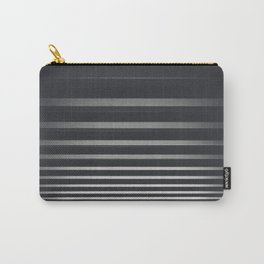 Black And White Stripes // Zebra Pattern Photography Carry-All Pouch