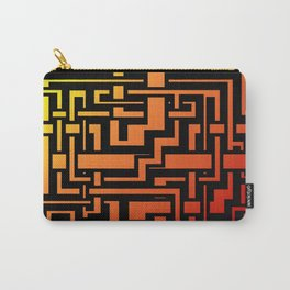 Abstract Incandescent Labirint Carry-All Pouch