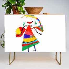 fly with me... Credenza