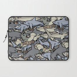 Save ALL Sharks! Laptop Sleeve