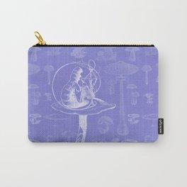 Carterpillar and Mushrooms Carry-All Pouch