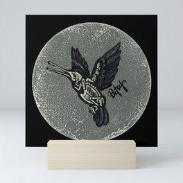 Hummingbird Skeleton: Skeletal Anatomy, Position 4 Mini Art Print