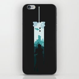 The Buster Sword iPhone Skin
