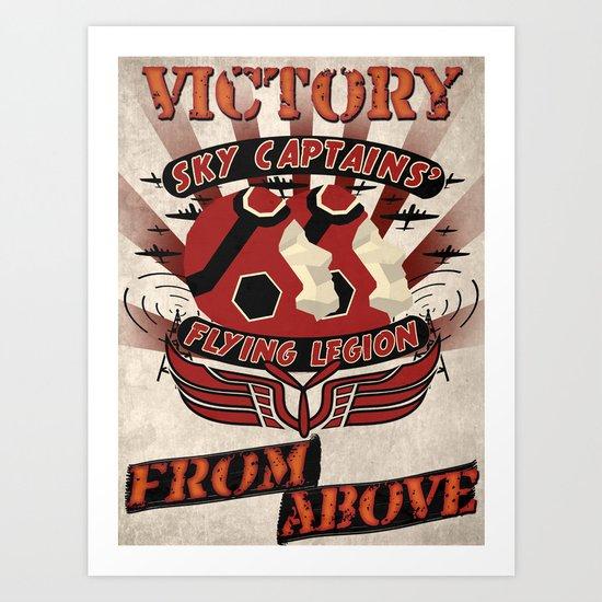 Flying Legion Art Print