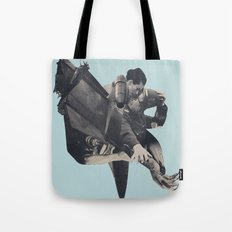 The Rushing Fog Tote Bag