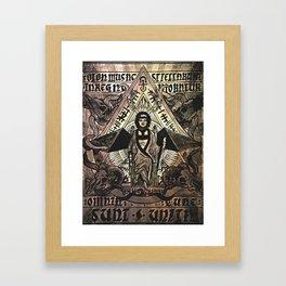 Mantra Of The Star Doe Framed Art Print