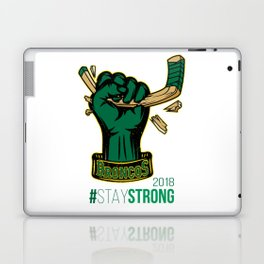 Stay Strong with HULK Humboldt Broncos! Laptop & iPad Skin