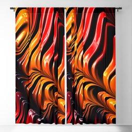 3D fractals Blackout Curtain