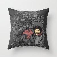 dreams Throw Pillows featuring Dreams by Alex Solis