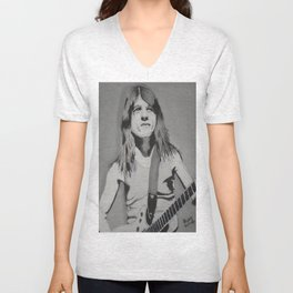 Malcolm Young Unisex V-Neck