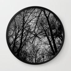 Trees at Mottisfont Wall Clock