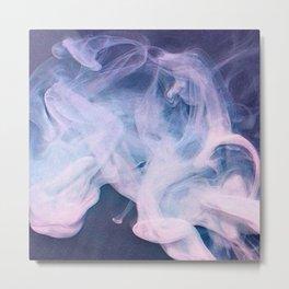 Psychedelyc smoke Metal Print