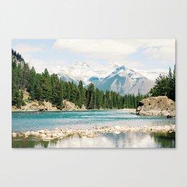 Bow Falls, Banff, Alberta, Canada Canvas Print