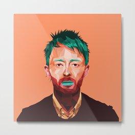 Thom Yorke 2.0 Metal Print