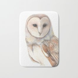 Magical Barn Owl Bath Mat
