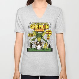 The Mischievous Gremlin Unisex V-Neck